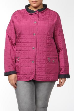 Куртка двухсторонняя GODSKE. Цвет: малиновый, синий