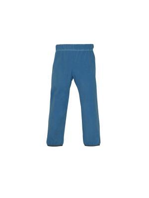 Флисовые брюки голубой Vugga. Цвет: голубой