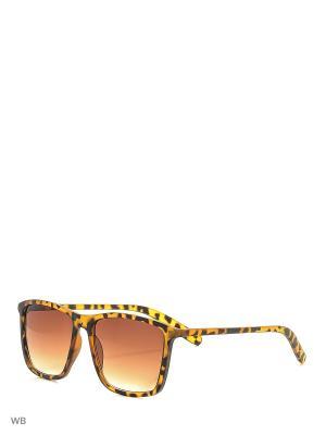 Солнцезащитные очки Modis. Цвет: черный, коричневый, оранжевый
