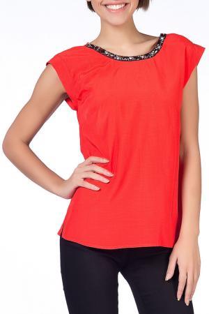 Блузка NARAMAXX. Цвет: оранжевый