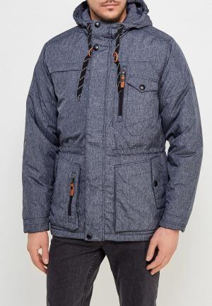 Куртка утепленная Xaska. Цвет: синий
