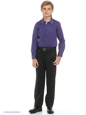 Рубашка Nota Bene. Цвет: фиолетовый