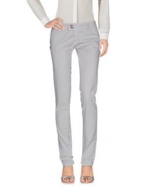 Повседневные брюки JCOLOR. Цвет: серый