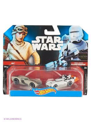 Машинки персонажей вселенной Звездные войны (упаковка из 2-х) Hot Wheels. Цвет: белый