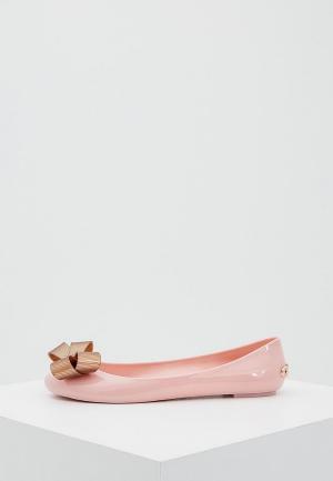 Балетки Ted Baker London. Цвет: розовый