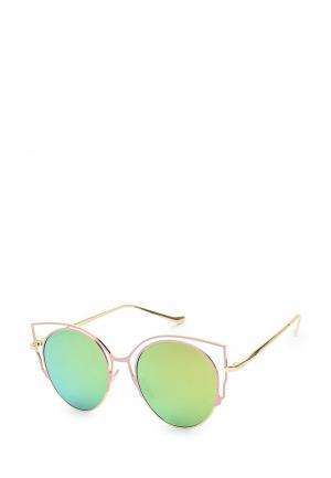 Очки солнцезащитные Kameo-Bis. Цвет: розовый