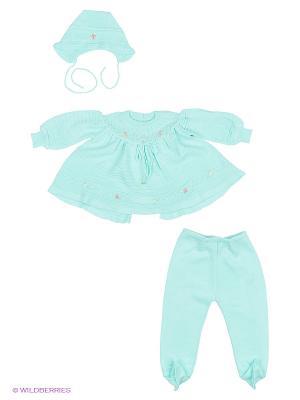 Комплект одежды St.Marco. Цвет: бирюзовый