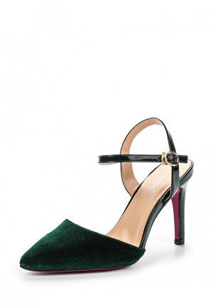 Туфли Vivian Royal. Цвет: зеленый