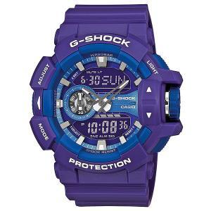 Часы  Ga-400a-6a Purple Casio G-Shock. Цвет: фиолетовый
