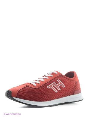 Кроссовки Tommy Hilfiger. Цвет: красный