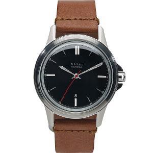 Часы  Carroway Auto Lth Black/Tan Electric. Цвет: черный