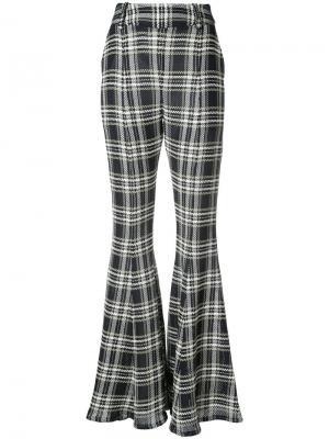 Расклешенные брюки Navi Beaufille. Цвет: синий