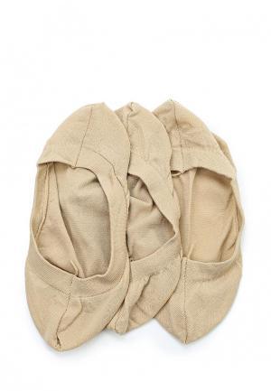 Комплект носков 3 пары OVS. Цвет: бежевый