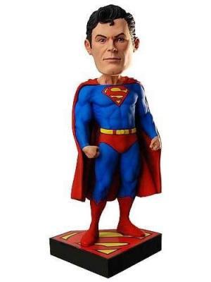 Фигурка DC Classic 8 Superman Head Knocker Neca. Цвет: черный, желтый, красный, синий