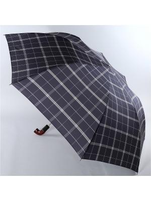 Зонт Trust. Цвет: черный, белый, серо-коричневый