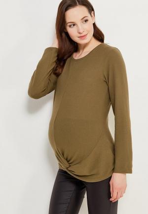 Джемпер Dorothy Perkins Maternity. Цвет: зеленый