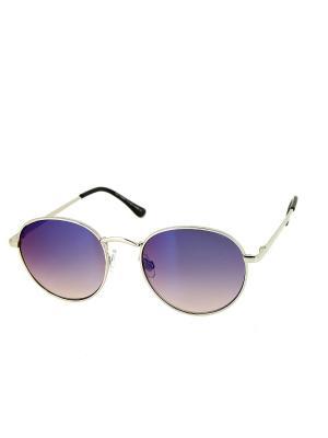 Солнцезащитные очки Dispacci. Цвет: голубой