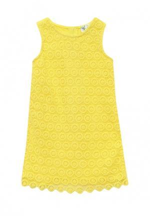 Платье Chicco. Цвет: желтый