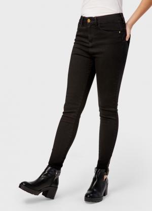 Укороченные брюки OSTIN. Цвет: черный