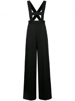 Suspender pants G.V.G.V.. Цвет: чёрный