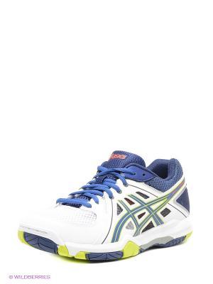 Волейбольные кроссовки GEL-TASK ASICS. Цвет: синий, зеленый, белый