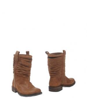 Полусапоги и высокие ботинки FIORENTINI+BAKER. Цвет: какао