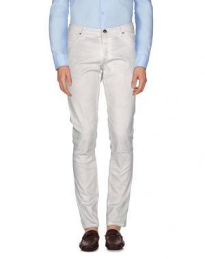 Повседневные брюки TOM REBL. Цвет: бежевый