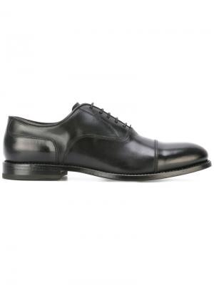 Классические туфли дерби W.Gibbs. Цвет: чёрный
