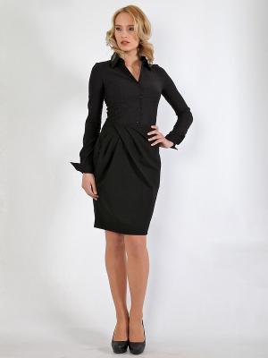 Блузка LISSA. Цвет: черный