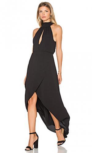 Макси платье lindsay SAYLOR. Цвет: черный