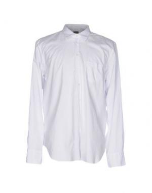 Pубашка U-NI-TY. Цвет: белый