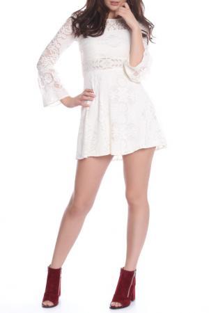Платье Bellissima. Цвет: white