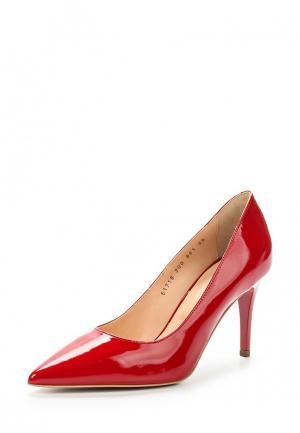 Туфли Giotto. Цвет: красный