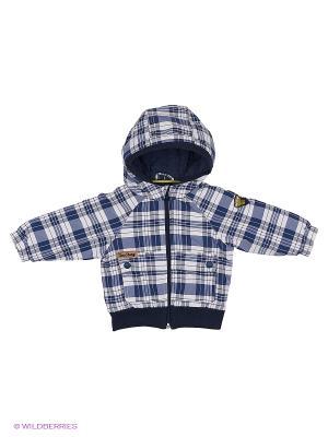 Куртка Wojcik. Цвет: темно-синий, белый