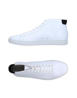 Высокие кеды и кроссовки CLAE. Цвет: белый