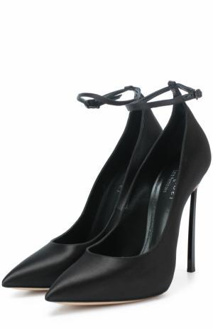 Туфли  x Lena Perminova Casadei. Цвет: черный
