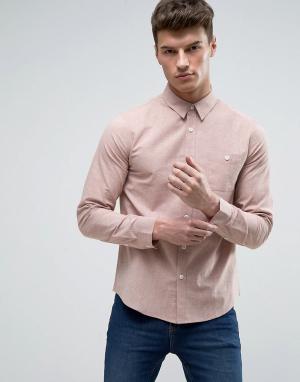 Another Influence Рубашка из шамбре. Цвет: розовый