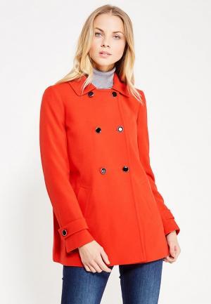 Пальто Dorothy Perkins. Цвет: красный