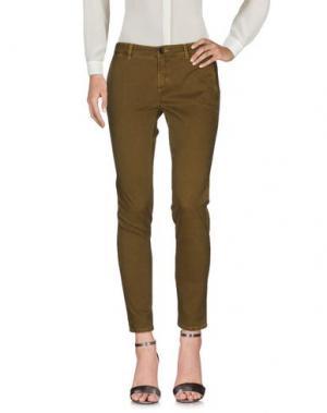 Повседневные брюки INX #THINK COLORED. Цвет: желтый