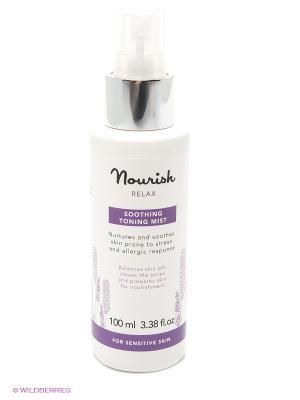 Смягчающий тоник-спрей для чувствительной кожи Relax Soothing Toning Mist, 100 мл Nourish. Цвет: прозрачный