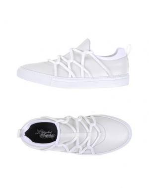 Низкие кеды и кроссовки ALEJANDRO INGELMO. Цвет: белый