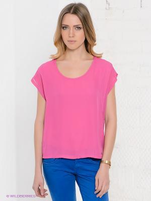 Блузка PEPE JEANS LONDON. Цвет: розовый