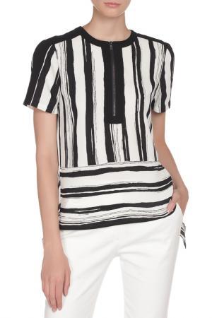 Блуза BCBG Max Azria. Цвет: двухцветный