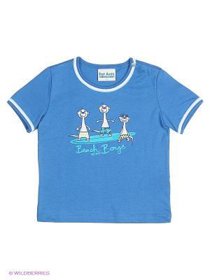 Футболка Sanetta. Цвет: синий