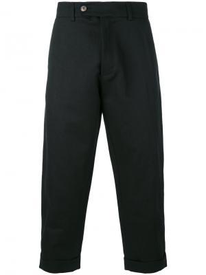 Cropped 60 trousers Société Anonyme. Цвет: чёрный