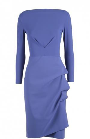 Платье La Petite Robe Di Chiara Boni. Цвет: голубой