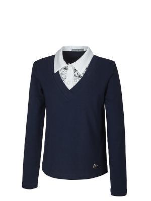 Пуловер Nota Bene. Цвет: темно-синий