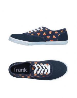 Низкие кеды и кроссовки PAUL FRANK. Цвет: темно-синий