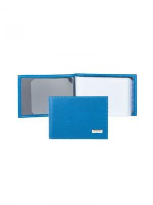 Футляр для кредитных карт Tirelli. Цвет: синий