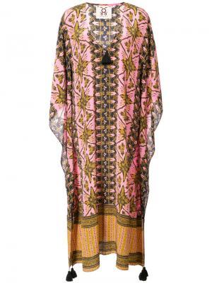 Платье-туника Eliza Figue. Цвет: розовый и фиолетовый